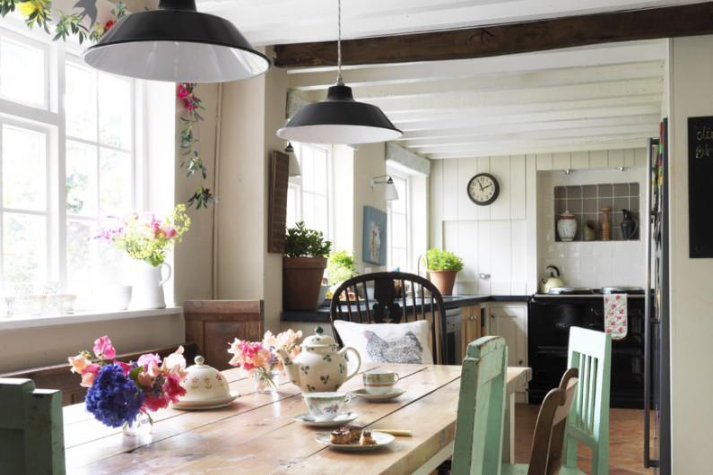 Идеи для оформления дачной кухни