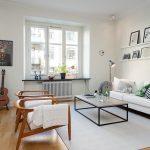 Скандинавский стиль в интерьере квартиры с примерами и фото