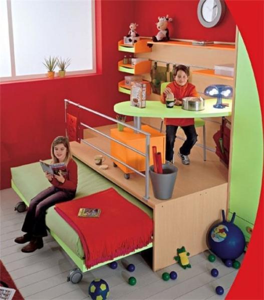 Подборка идей, подиум в детской комнате