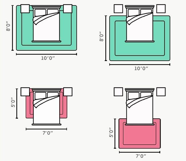 Дизайнерский ковер на пол: новый взгляд на оформление пола? (фото)