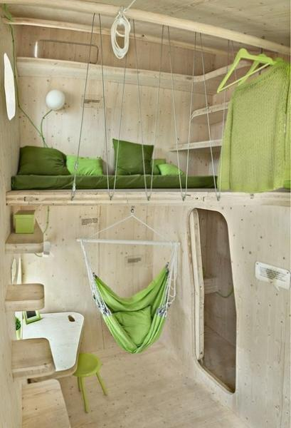 Микро-дом для студентов площадью всего 10 м² от шведских архитекторов