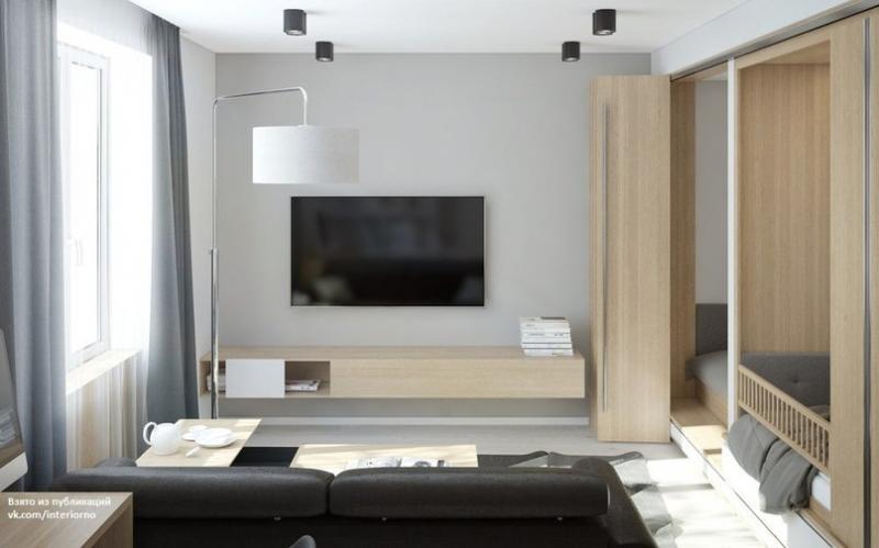 Компактная квартира для семьи с маленьким ребенкомАвтор проекта - Николай Плаксин