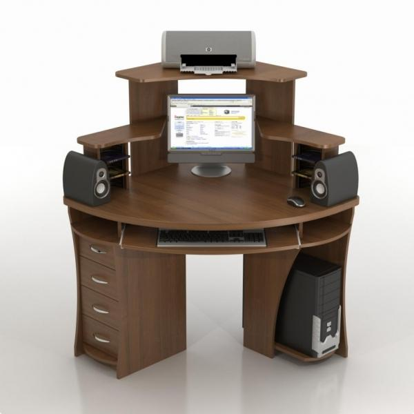 Компьютерный стол: виды и правила выбора