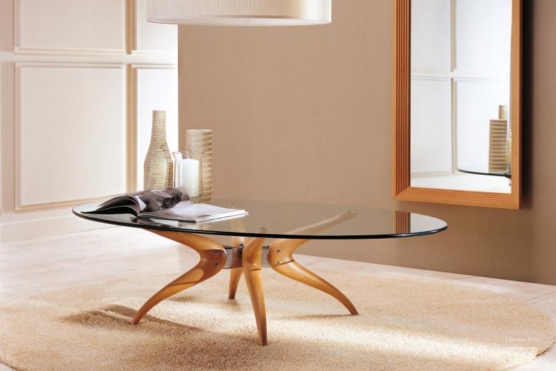 Как выбрать оригинальный журнальный столик со стеклянной столешницей