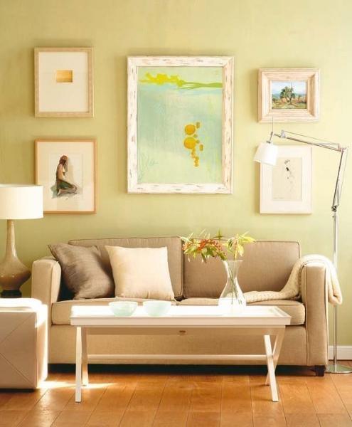 10 вариантов как развесить картины