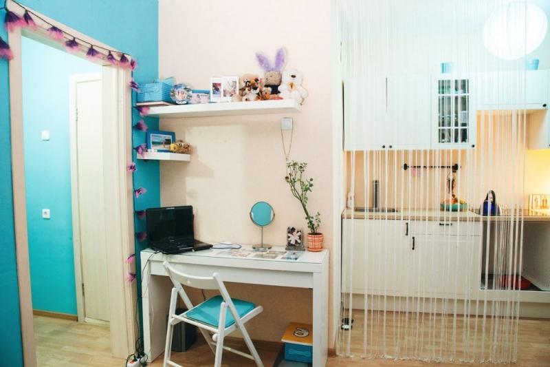Обустройство квартиры-студии 26 квадратов