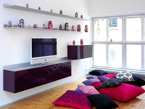 Сочетание цветов в дизайне интерьера