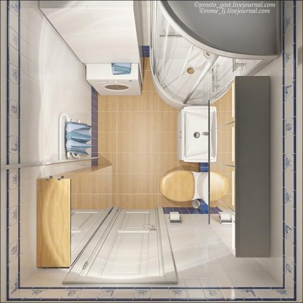 Дизайн хрущевки (28 кв.м)