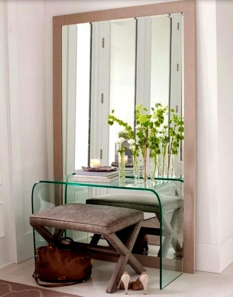 Туалетный столик с зеркалом: фото и идеи