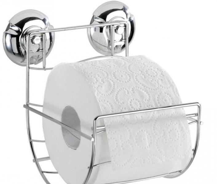 Разновидности держателей для туалетной бумаги
