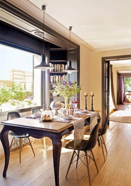 Солнечная квартира с террасой в Барселоне (70 кв. м)