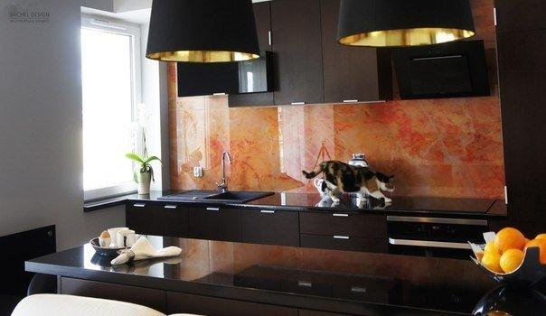 Дизайн интерьера маленькой однокомнатной квартиры. Общая площадь 34 кв.м.