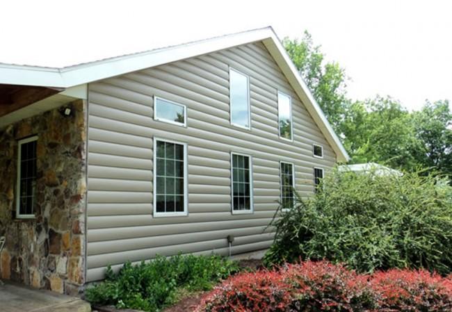 Виниловый сайдинг под бревно (36 фото и цены): эффектный внешний вид загородного дома