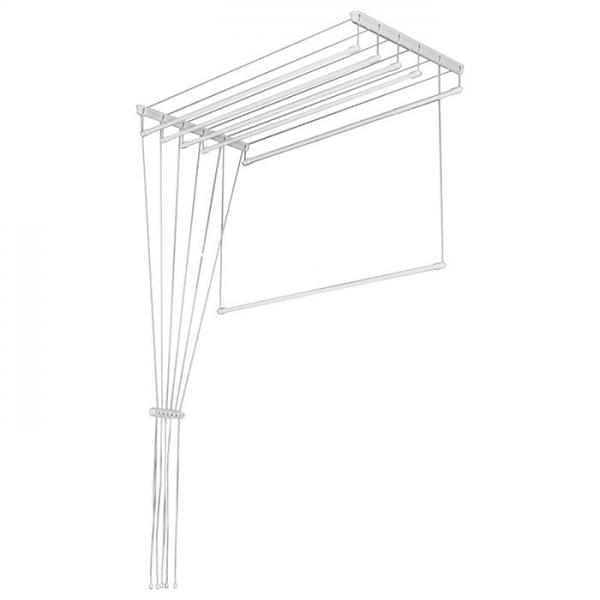 Лиана для сушки белья на балконе: обзор конструкций и варианты установки