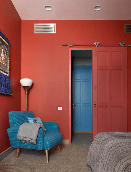 Коралловый цвет в интерьере: 70 теплых и гармоничных сочетаний для дома