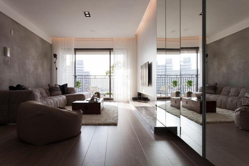 Оформление интерьера квартиры-студии площадью 25 кв. м