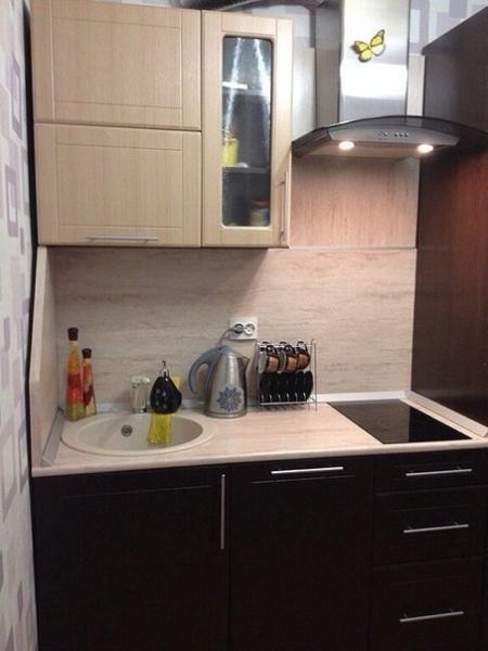 Небольшая кухня 6 кв м