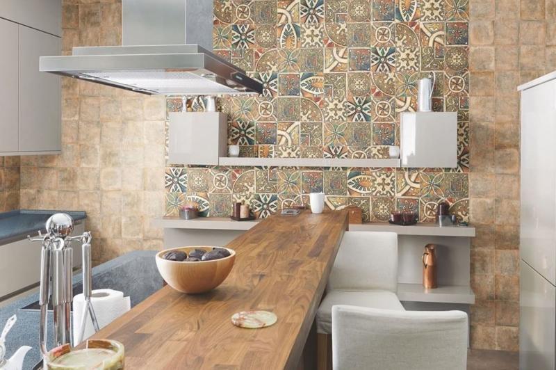 Испанская плитка в современном интерьере