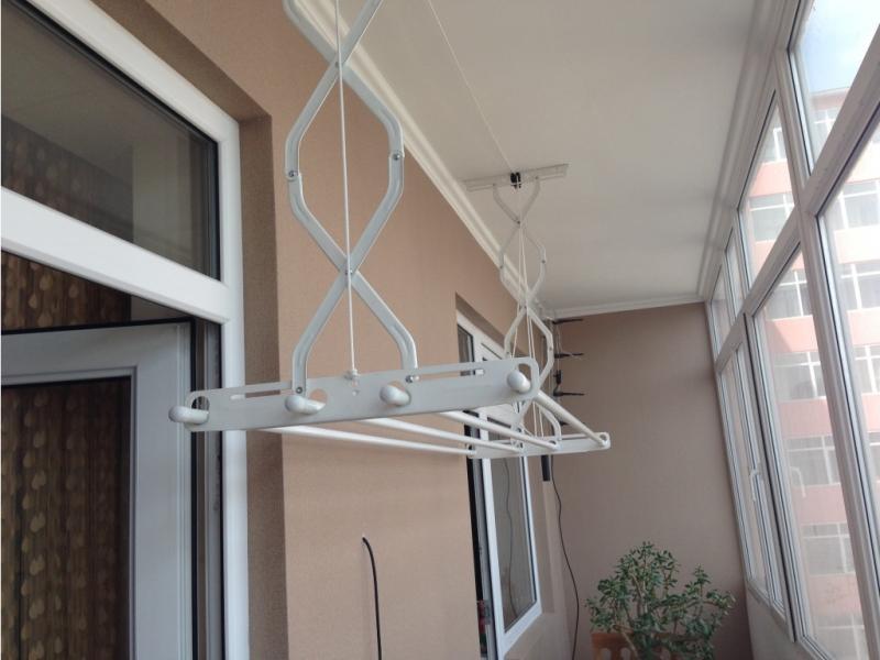 Сушилка для белья потолочная на балкон
