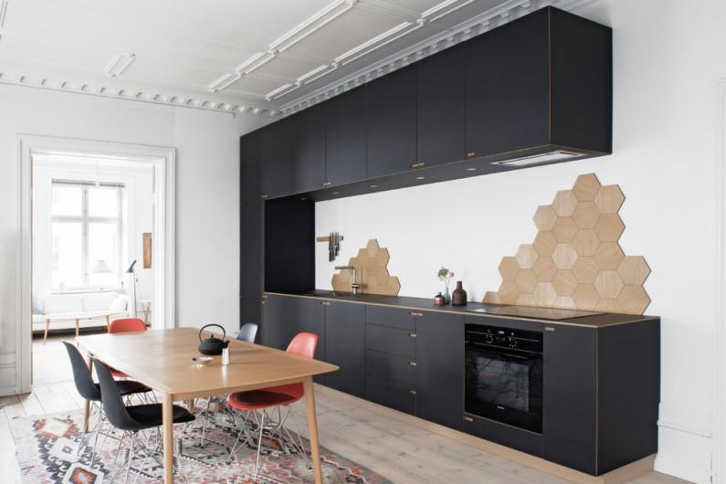 Чёрная кухня: оформление, фото примеры, преимущества