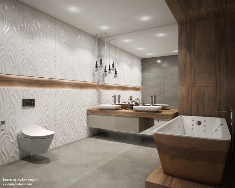 Проект ванной комнатыАвтор проекта - Татьяна Живолупова