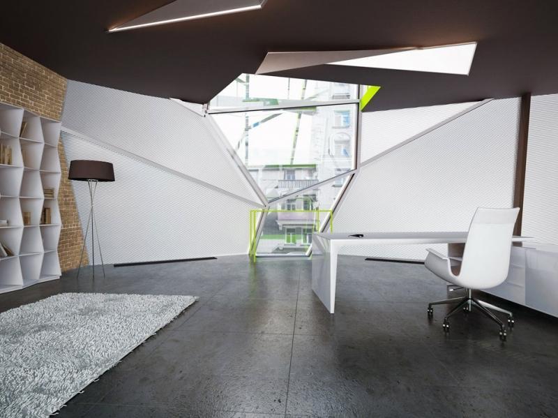 Необычный офис za bor architects в Москве
