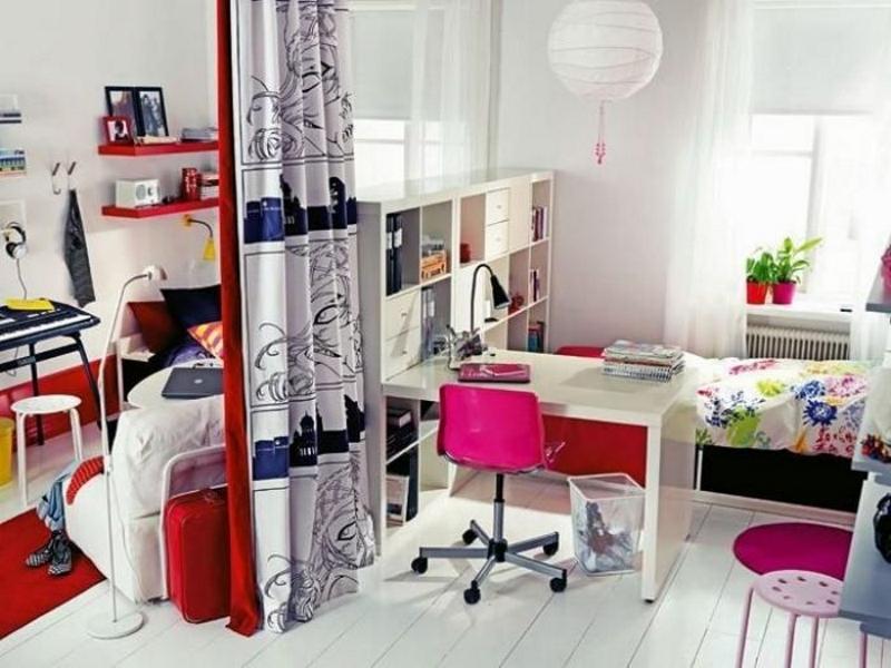 Дизайн детской комнаты для двоих детей