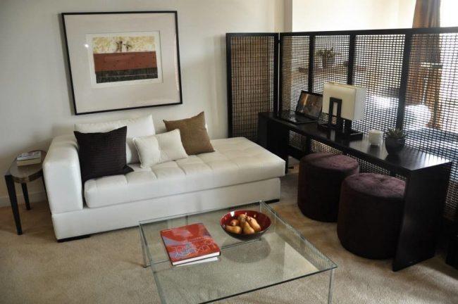 Дизайн-проект однокомнатной квартиры: 85 элегантных решений для оптимизации пространства