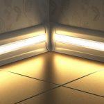 Варианты использования светодиодной подсветки в интерьере различных помещений