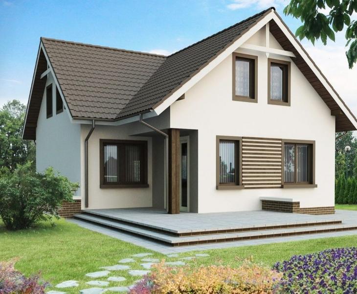 Примеры проектов домов и коттеджей из пеноблоков