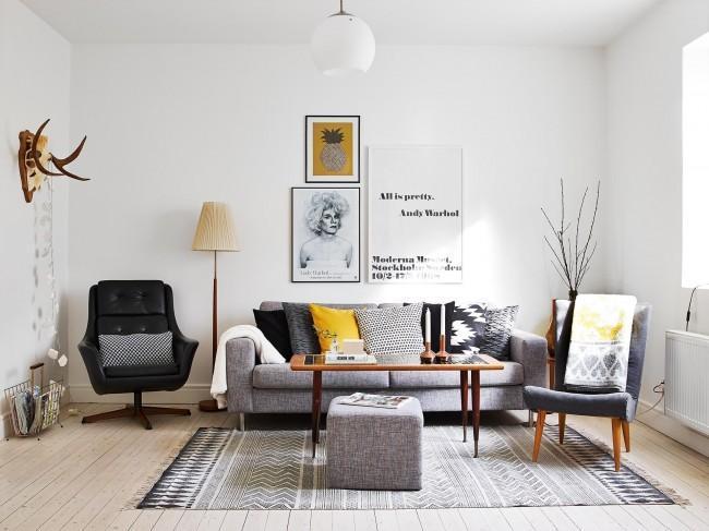 Дизайн зала в квартире (71 фото): как совместить презентабельность и функциональность