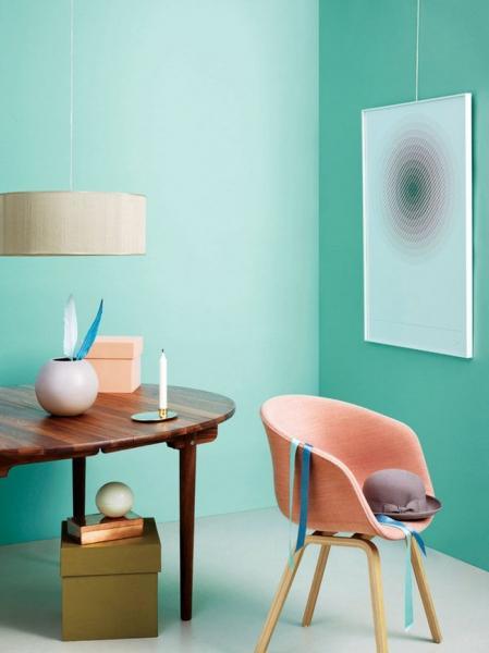 Мятный цвет в интерьере (58 фото): тонкости оформления и подбор цветов-партнеров