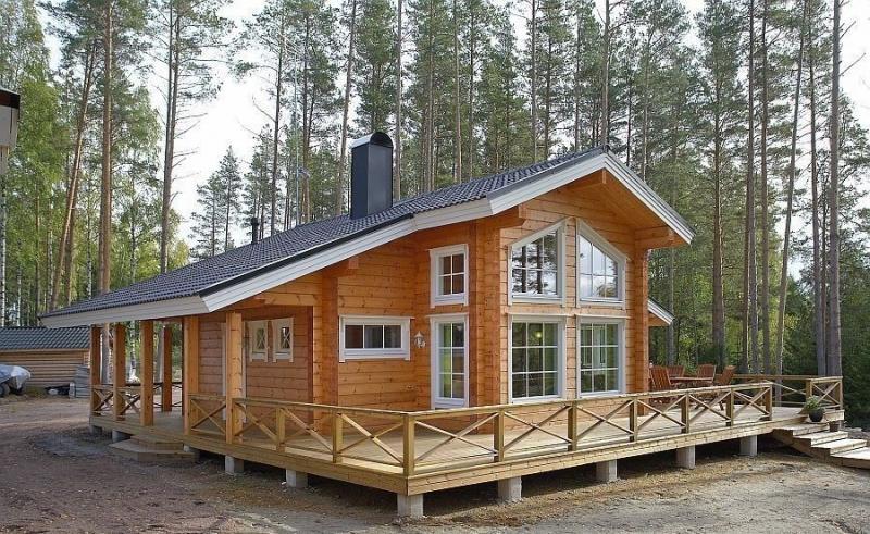 Проекты финских домов из бруса (49 фото): от мечты до реальности очень близко