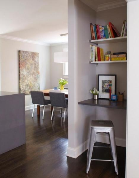 Дизайн однокомнатной квартиры с нишей (54 фото): соединяем стиль и практичность