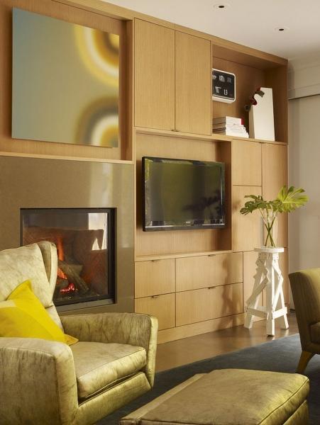 Телевизор на стене в интерьере (45 фото): идеи гармоничного размещения