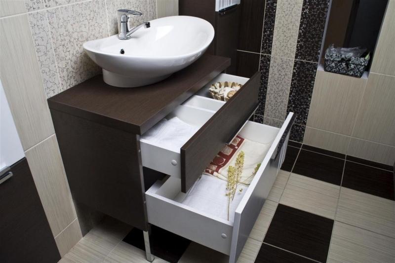 Какую тумбу с раковиной выбрать для ванной комнаты