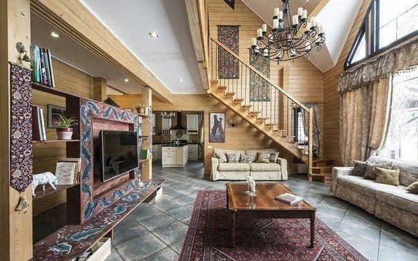 Прекрасный деревянный дом