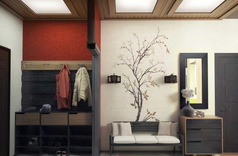 Современные интерьеры прихожих в квартире с фото