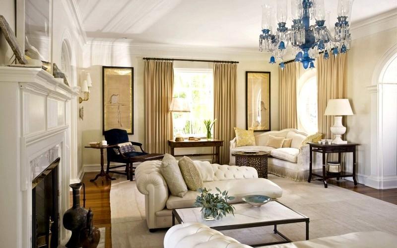Ковры в классическом интерьере квартиры