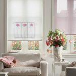Рулонные шторы на пластиковые окна: идеи 2018