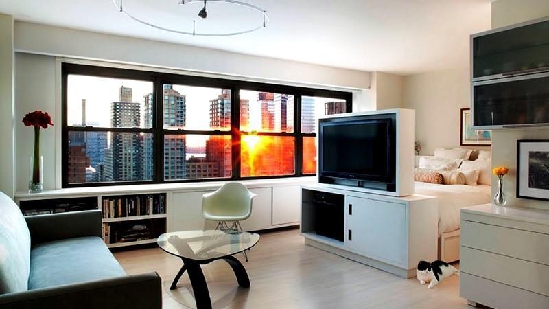 Как оформить современную квартиру-студию?