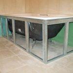 Как установить под ванну раздвижной многофункциональный пластиковый экран