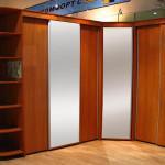 Угловой шкаф: виды и идеи 2018