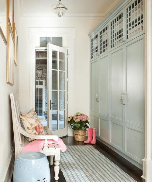 Прихожая в стиле прованс (120+ фото): выбираем мебель для коридора и все секреты французского уюта