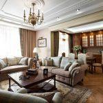 Почему классический стиль для гостиной является каноном дизайна интерьера