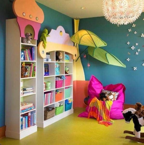 Детская игровая комната (45 фото): территория максимального комфорта
