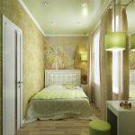 Какой дизайн подобрать для узкой спальни