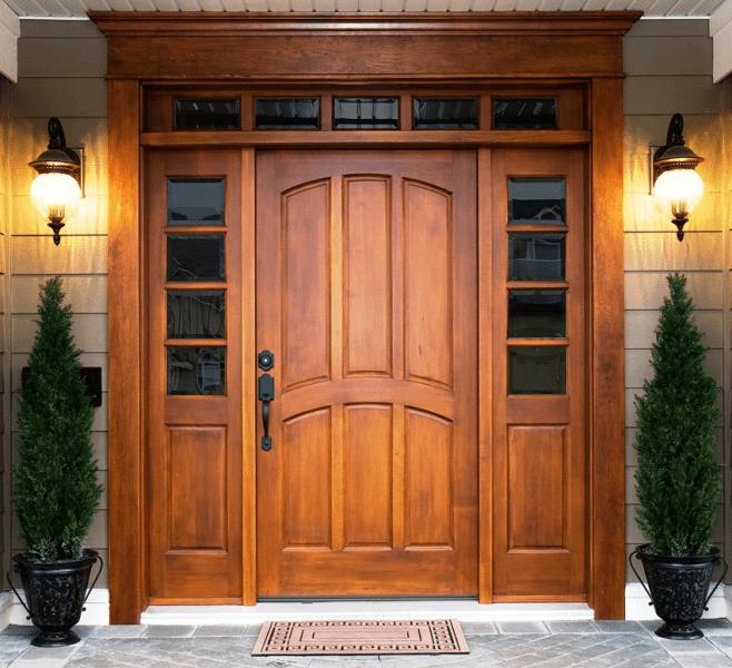 Деревянные входные входные: ТОП-10 надежных и стильных моделей для дома 2019 года