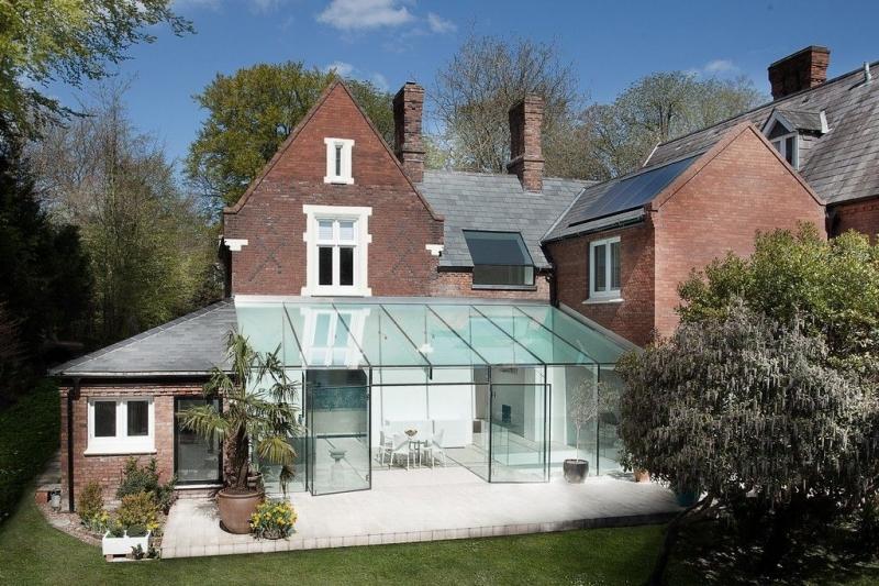 Проект дома с зимним садом (51 фото): когда уютно и людям, и растениям