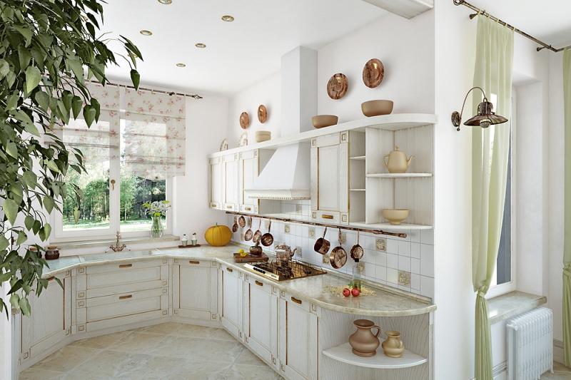 Что нужно для создания интерьера кухни в стиле прованс